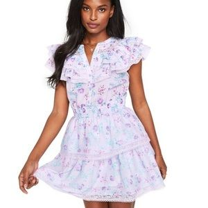 LOVE SHACK FANCY X TARGET 🌸 NEW Purple Dress